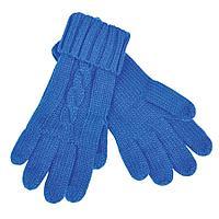 """Перчатки  сенсорные """"Irish"""", синий_М, 100% акрил"""