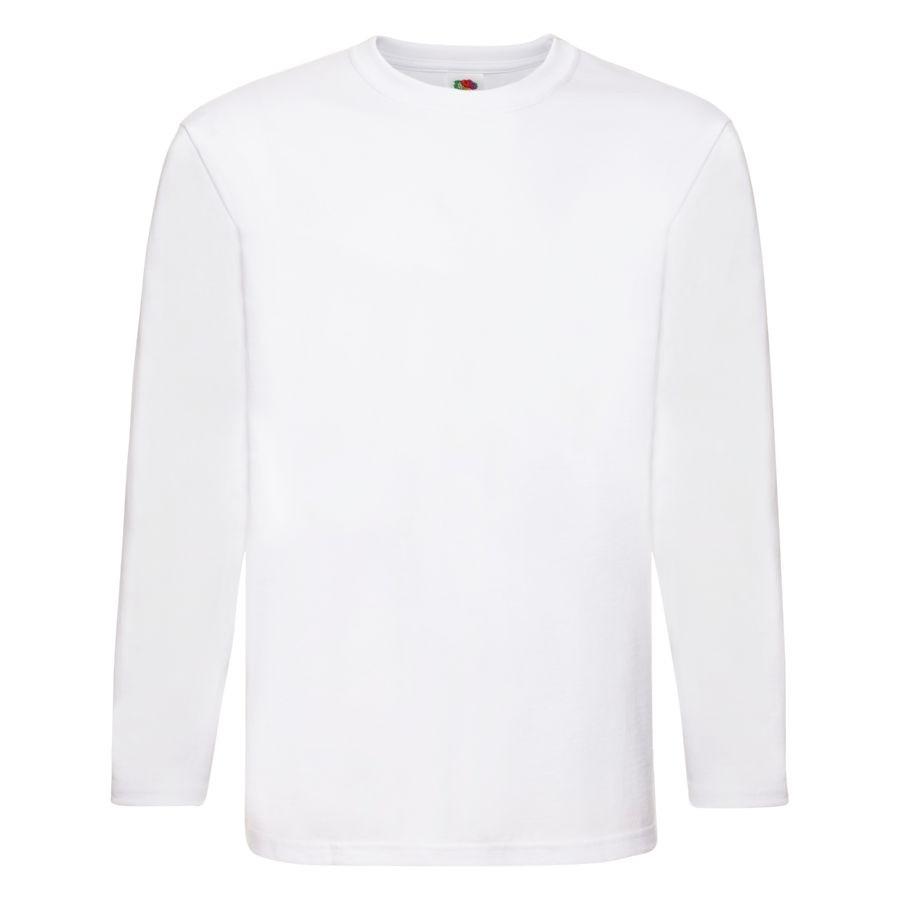 """Футболка """"Super Premium Long Sleeve"""", белый, 2XL, 100% х/б, 190 г/м2"""