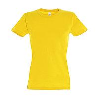 "Футболка ""Imperial Women"", желтый_L, 100% х/б, 190 г/м2, фото 1"