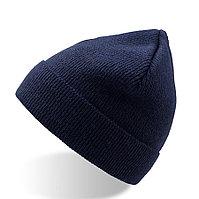 "Шапка ""DOLOMITI"", синий, 80% акрил, 15% шерсти, 5% вискоза"