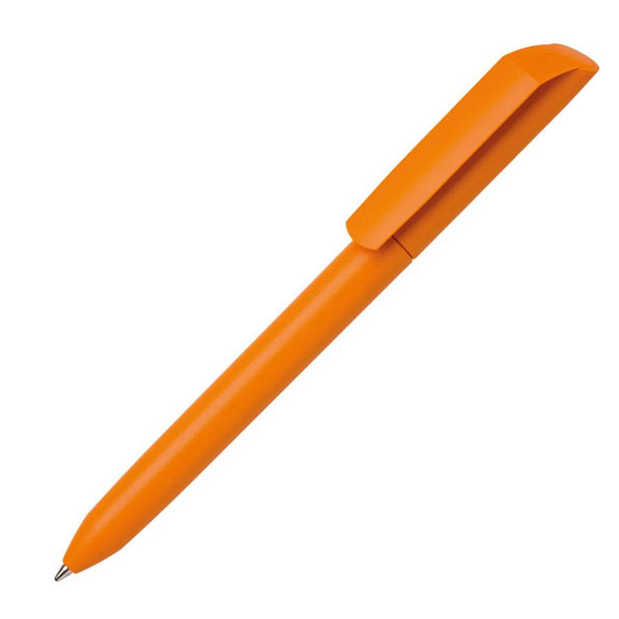 Ручка шариковая FLOW PURE, оранжевый, пластик
