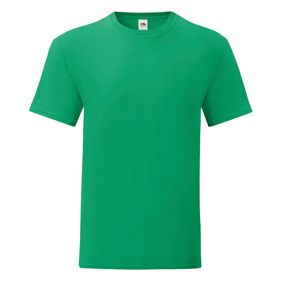 "Футболка ""Iconic"", зеленый, 2XL, 100% х/б, 150 г/м2"