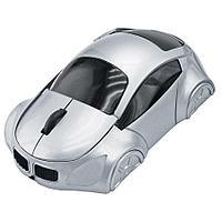 """Мышь компьютерная оптическая """"Автомобиль""""; серебристый; 10,4х6,4х3,7см; пластик"""