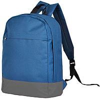 """Рюкзак """"URBAN"""",  синий/серый, 39х27х10 cм, полиэстер 600D"""