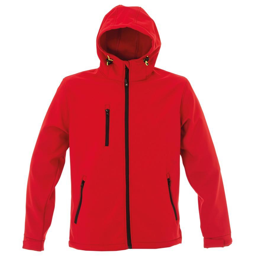 Куртка Innsbruck Man, красный_L, 96% полиэстер, 4% эластан