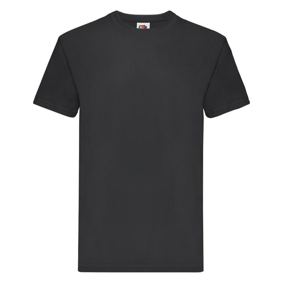"""Футболка мужская """"Super Premium T"""", черный 4XL, 100% х/б, 205 г/м2"""