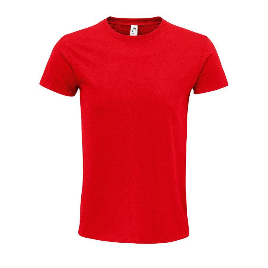 """Футболка мужская """"EPIC"""", красный, S, 100% органический хлопок, 140 г/м2"""
