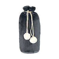 Плед GRADIENT в подарочном мешке; серый; 130х150 см; фланель 280 гр/м2, фото 1