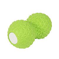 Массажер PEANUT, зеленый, 9x16,5 см, полиуретан