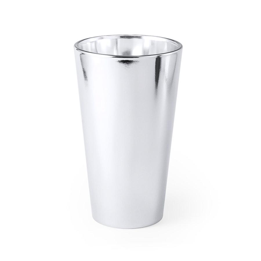 Стакан RAPTOL, серебряный, стекло