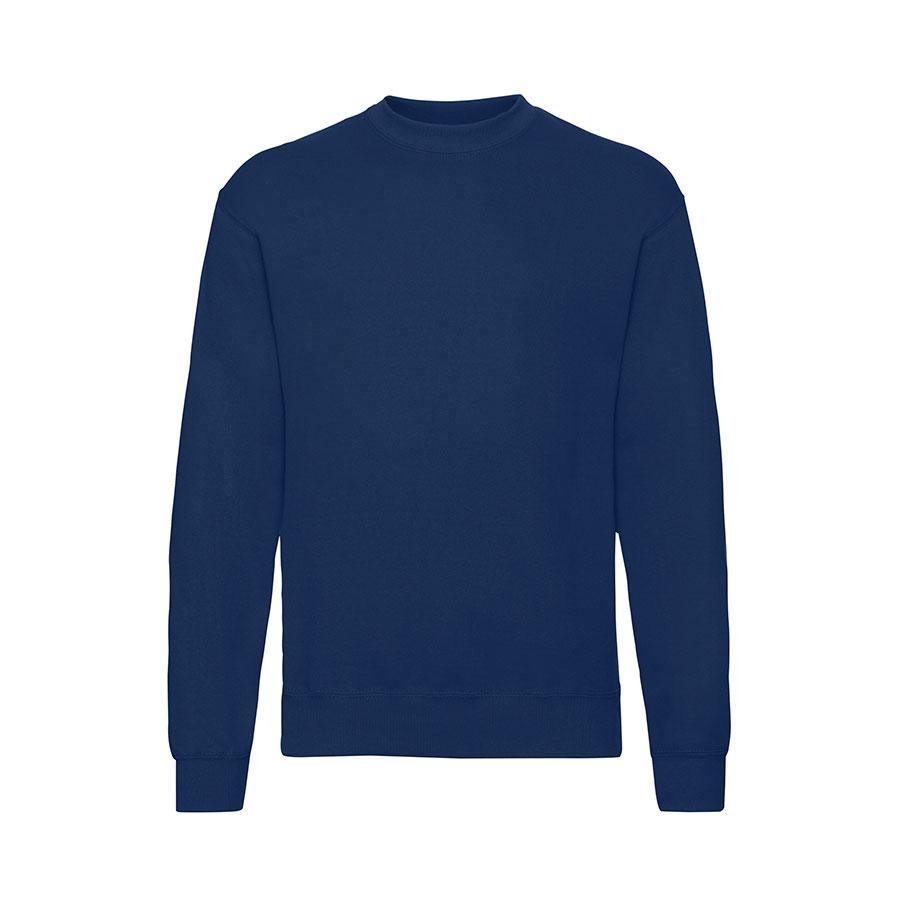"Толстовка мужская с начесом ""Classic Set-In Sweat"",  темно-синий, XL, 80% х/б 20% пол-тер, 280 г/м2"