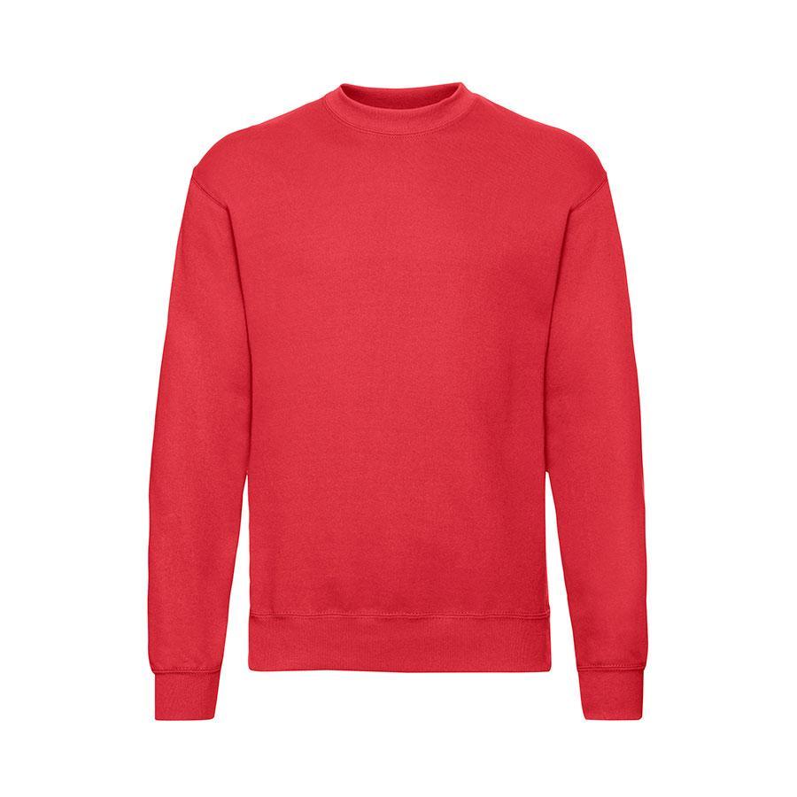 """Толстовка мужская с начесом """"Classic Set-in Sweat"""",  красный, XL, 80% х/б 20% полиэстер, 280 г/м2"""