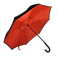 """Зонт-трость """"Original"""", механический, нейлон, красный"""