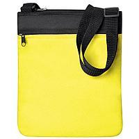 "Промо сумка на плечо ""Simple""; желтый; 23х28 см; полиэстер"