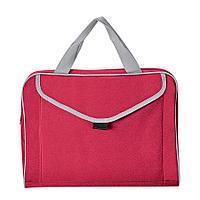 "Конференц-сумка ""Mail""; красный; 35х30x8 см; полиэстер"