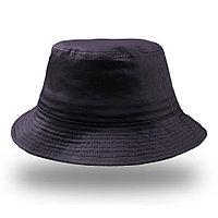"Панама ""BUCKET COTTON"", темно-синий, 100% хлопок, 180 г/м2, фото 1"