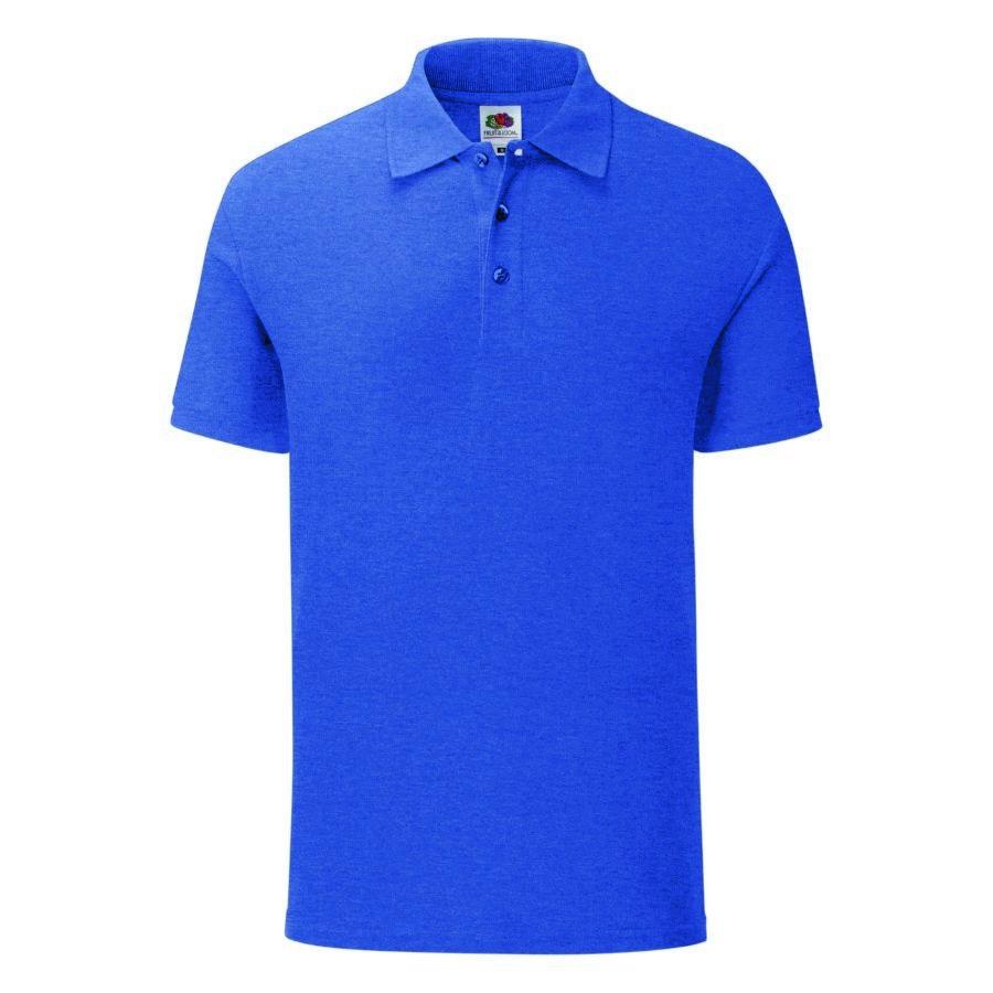 "Поло ""Iconic Polo"", голубой, S, 65% полиэстер 35% х/б, 180 г/м2"