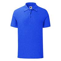 "Поло ""Iconic Polo"", голубой, S, 65% полиэстер 35% х/б, 180 г/м2, фото 1"