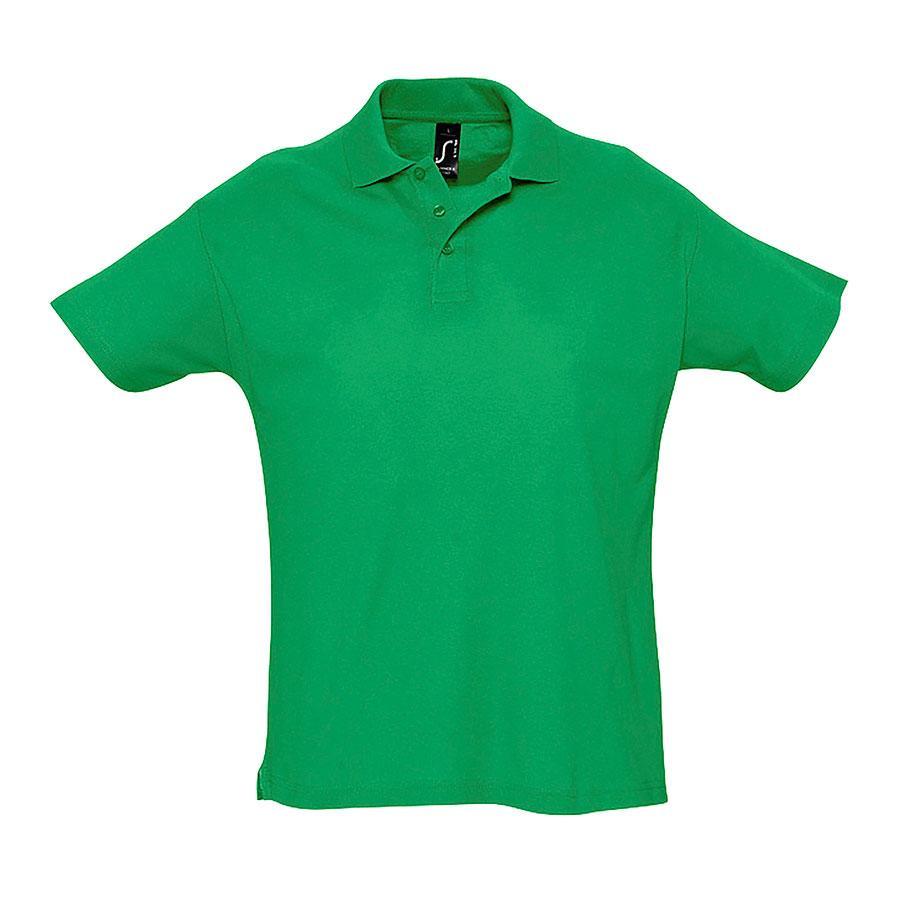 """Поло """"Summer"""", ярко-зеленый_2XL, 100% х/б, 170г/м2"""