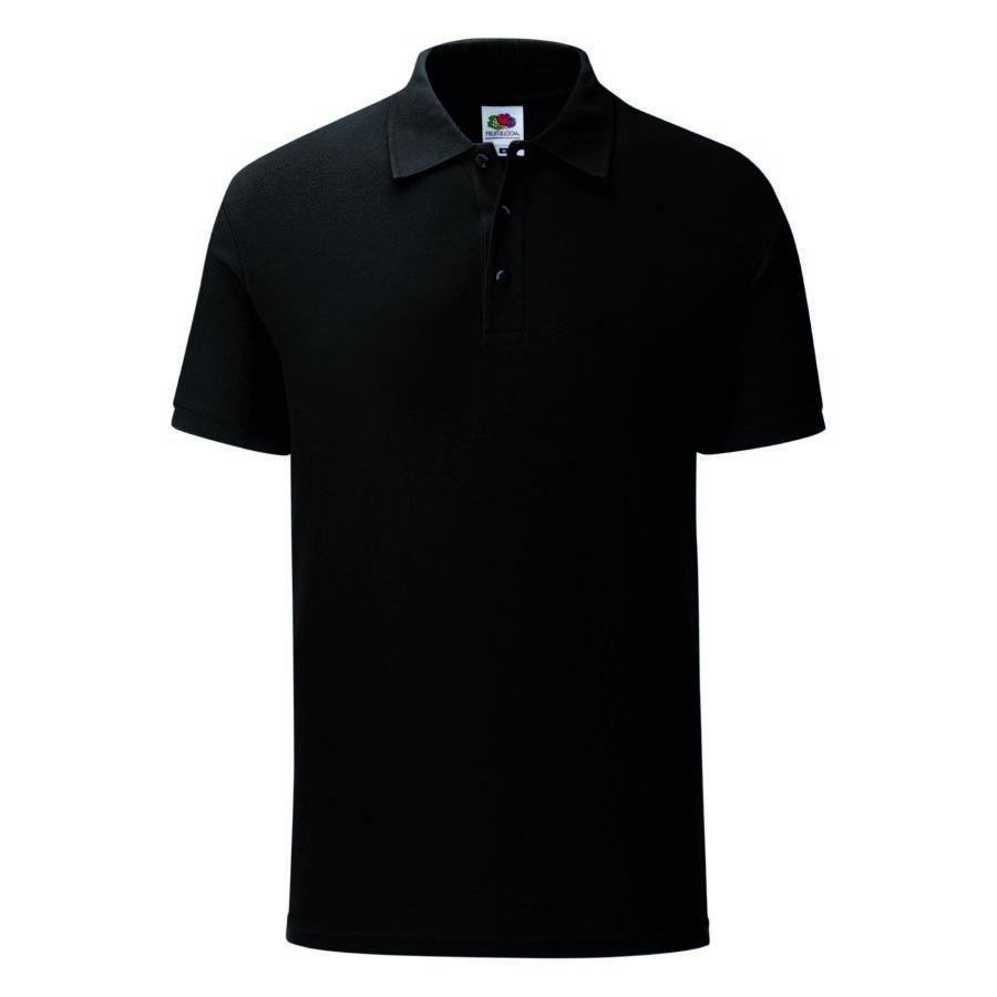 "Поло ""Iconic Polo"", черный, S, 100% х/б, 180 г/м2"