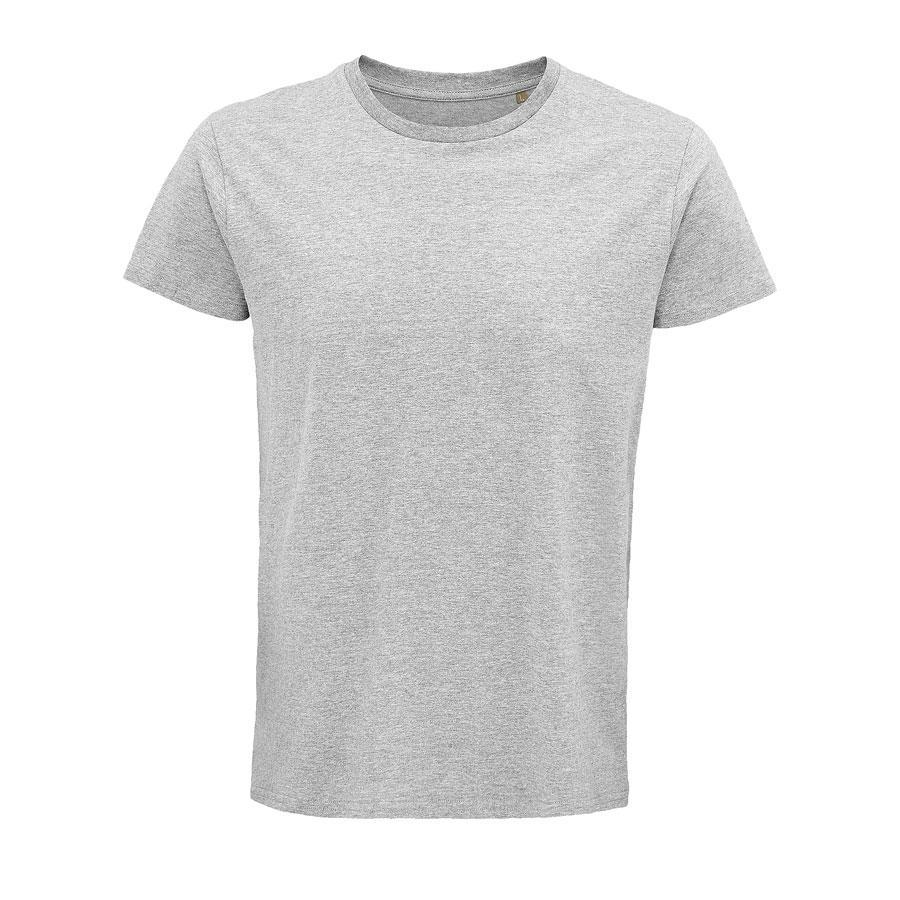 """Футболка мужская """"CRUSADER MEN"""", серый меланж, 4XL, 100% органический хлопок, 150 г/м2"""