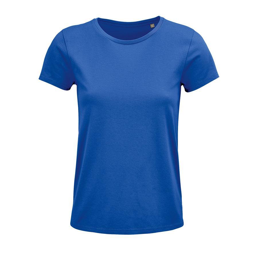 """Футболка женская """"CRUSADER WOMEN"""", ярко-синий, S, 100% органический хлопок, 150 г/м2"""