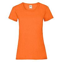 "Футболка ""Lady-Fit Valueweight T"", оранжевый_XS, 100% хлопок, 165 г/м2, фото 1"