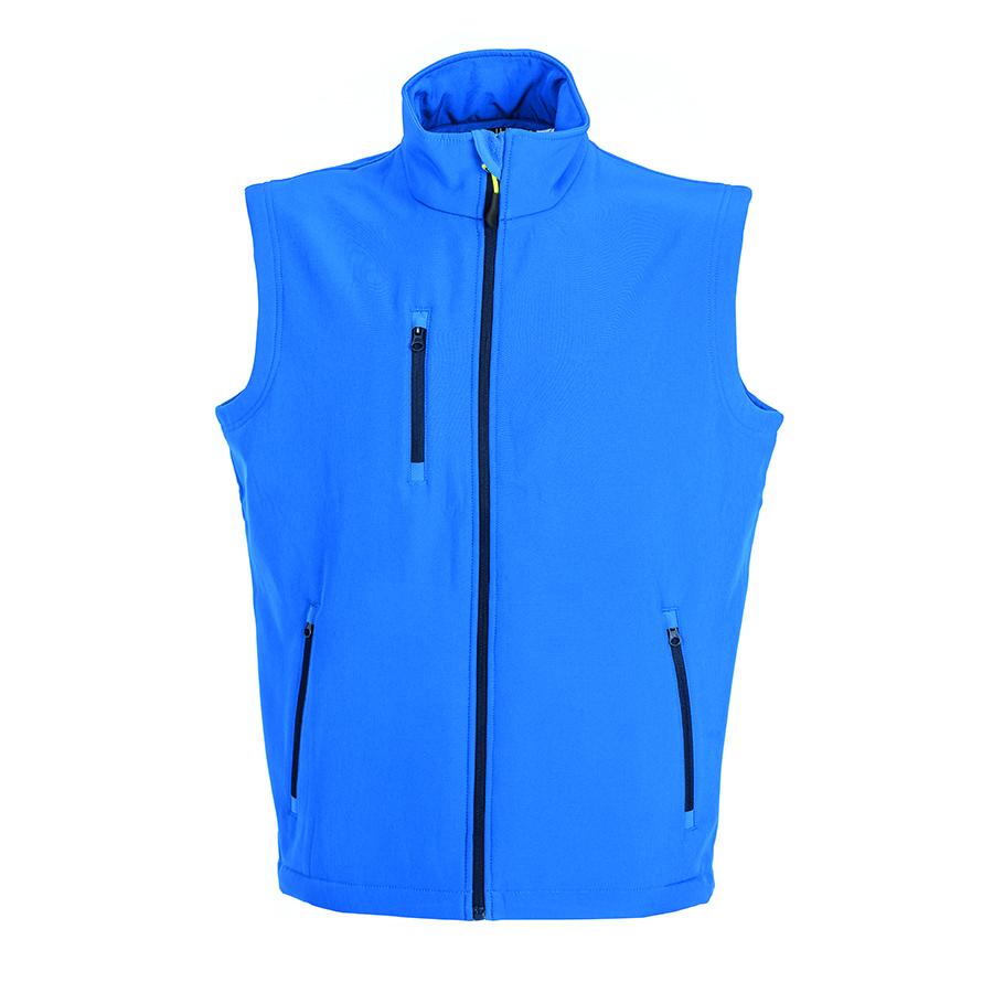 """Жилет мужской """"TARVISIO MAN"""", ярко-синий, XL, 95% полиэстер, 5% эластан, 320 г/м2"""