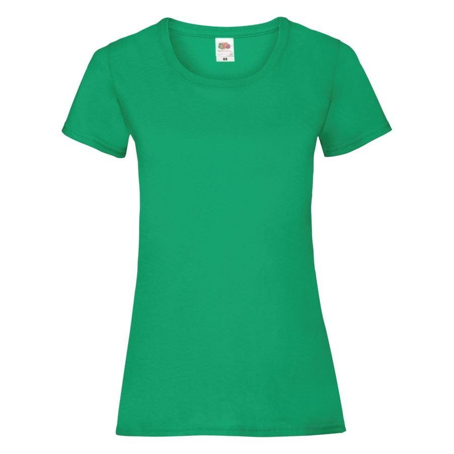 "Футболка ""Lady-Fit Valueweight T"", зеленый_M, 100% хлопок, 165 г/м2"