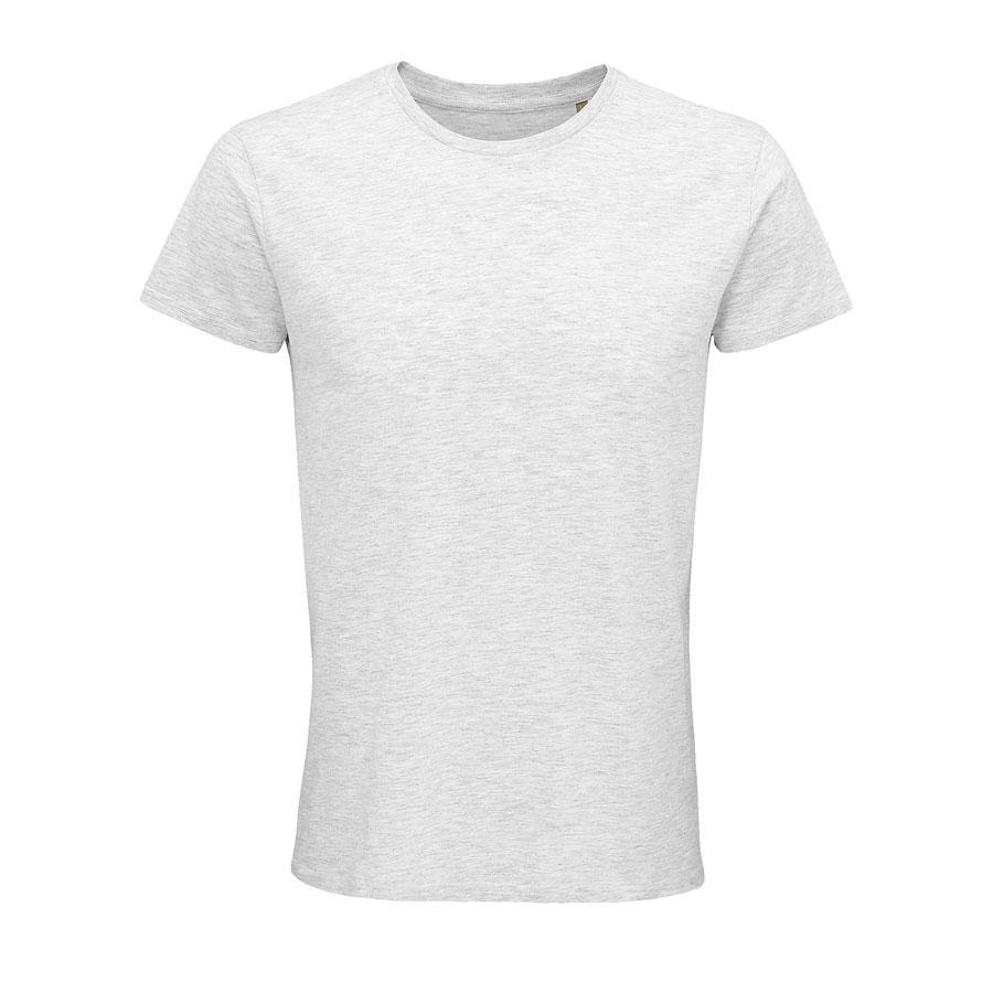 """Футболка мужская """"CRUSADER MEN"""", св.серый меланж, 4XL, 100% органический хлопок, 150 г/м2"""