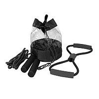 Набор SPORT UP, эспандер, скакалка, сумка, черный, полиуретан