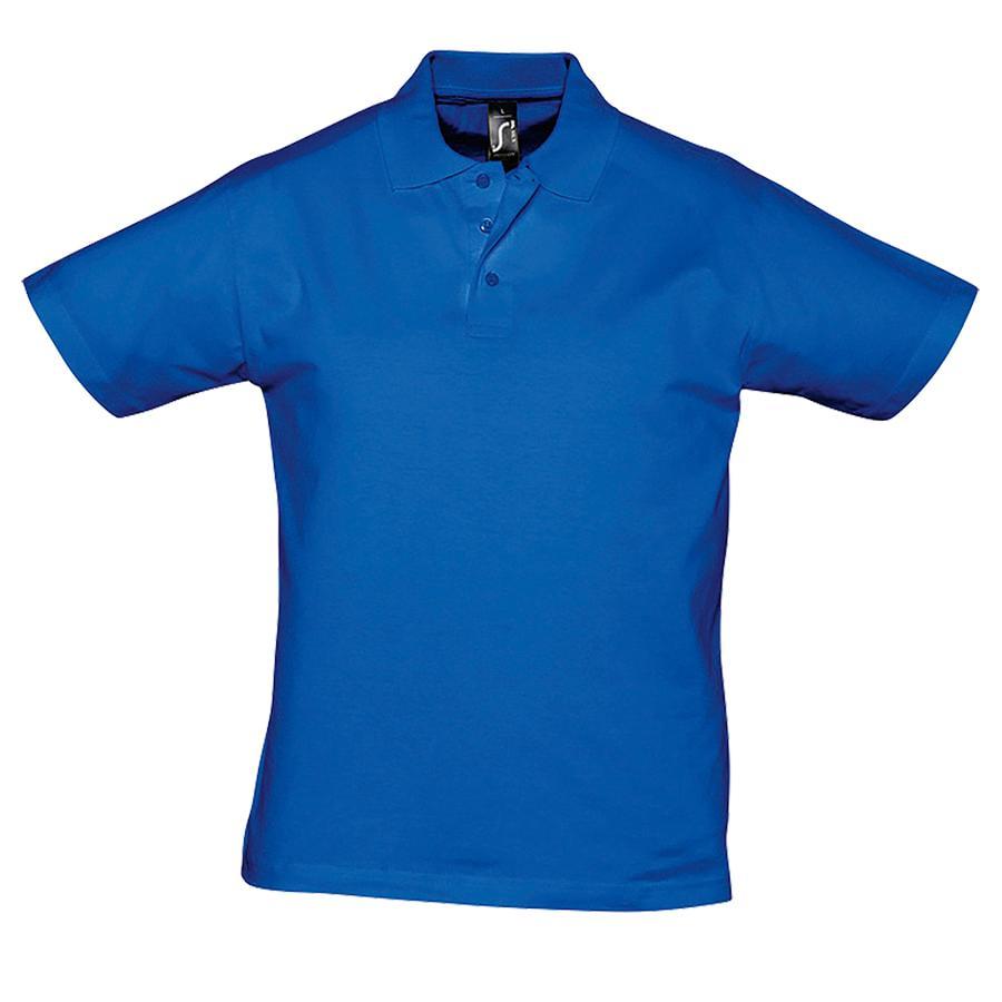 """Поло """"Prescott Men"""", ярко-синий_2XL, 100% х/б, 170г/м2"""