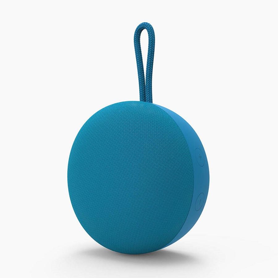Колонка беспроводная ATRIA MINI TWS, цвет голубой