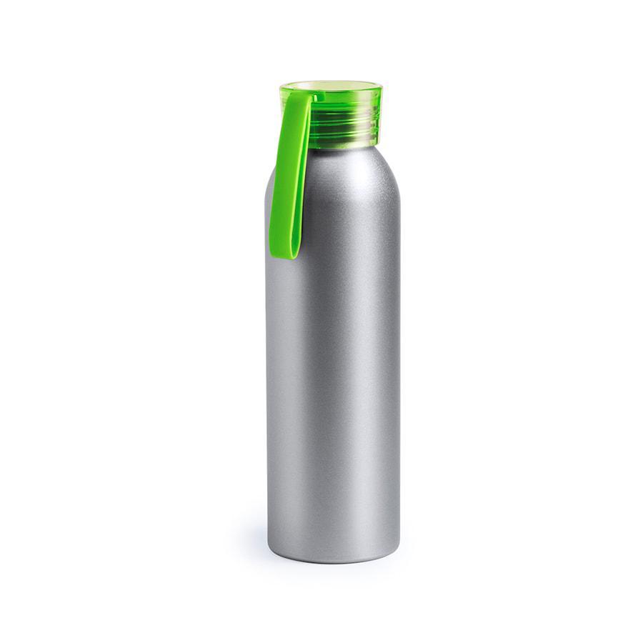 Бутылка для воды TUKEL, зеленый, 650 мл,  алюминий, пластик