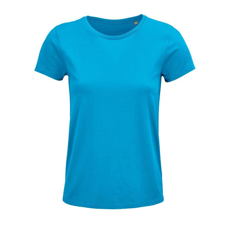 """Футболка женская """"CRUSADER WOMEN"""", бирюзовый, XL, 100% органический хлопок, 150 г/м2"""