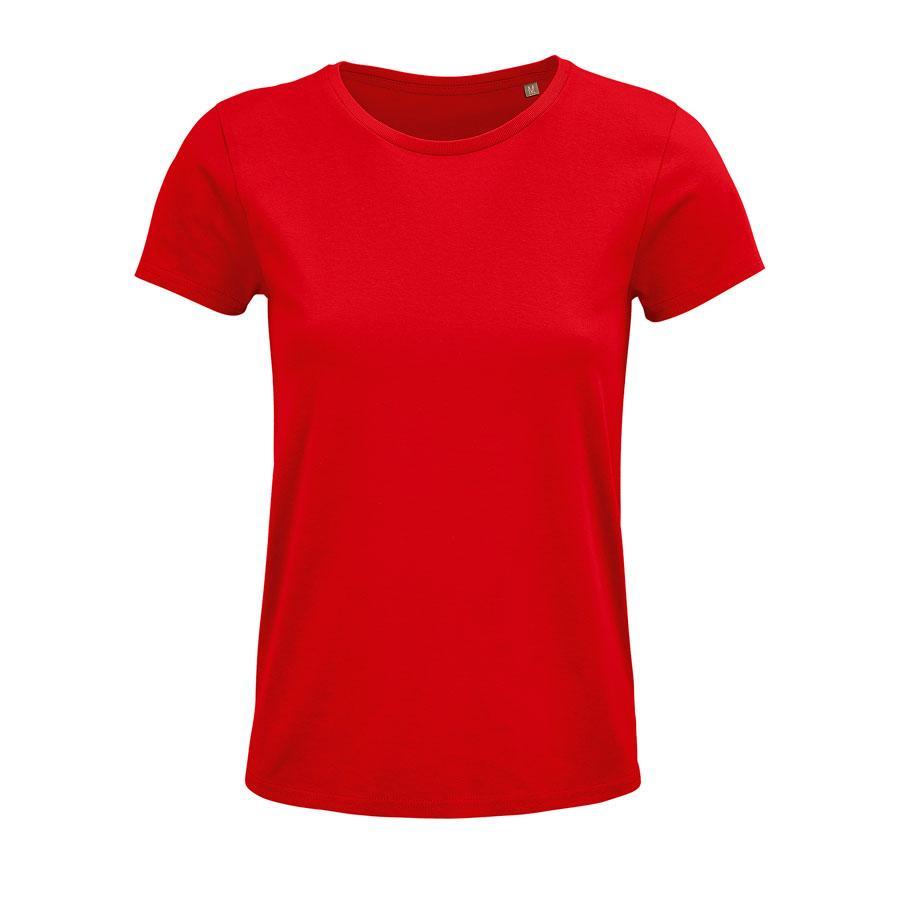 """Футболка женская """"CRUSADER WOMEN"""", красный, XL, 100% органический хлопок, 150 г/м2"""