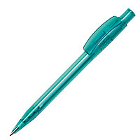 Ручка шариковая PIXEL, аквамарин, пластик