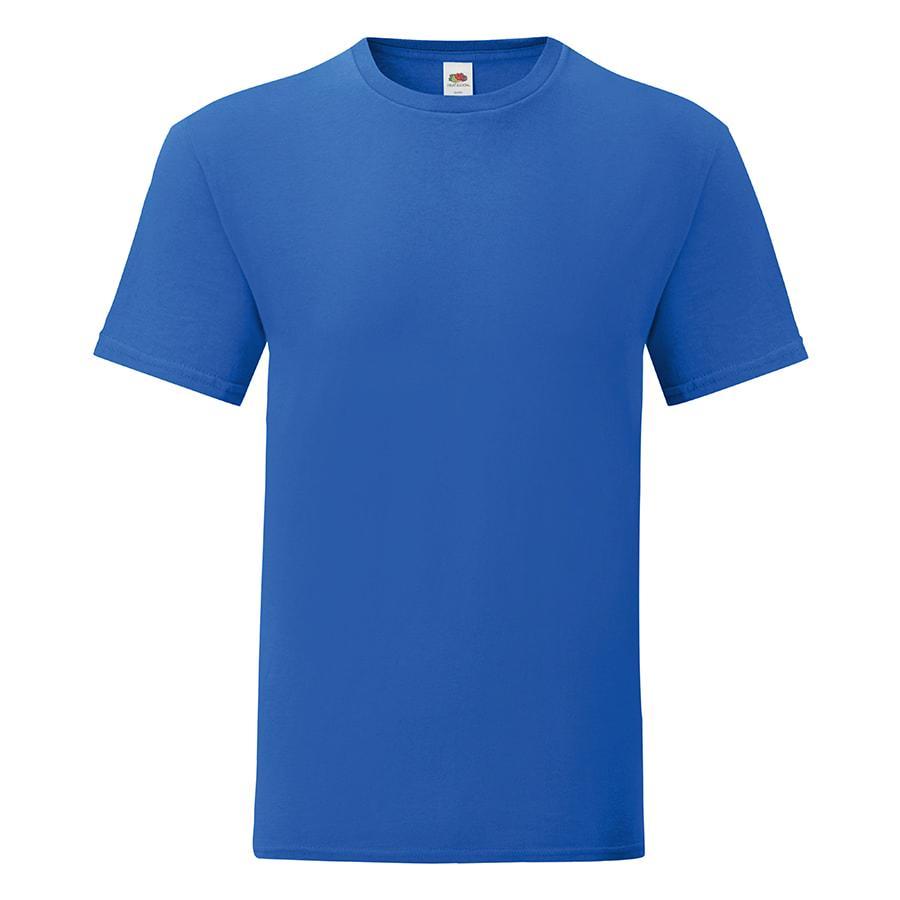 """Футболка """"Iconic"""", ярко-синий, S, 100% х/б, 150 г/м2"""