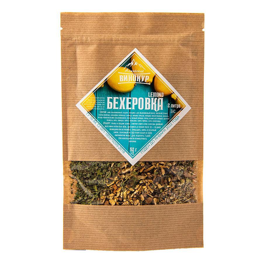 "Набор трав и специй ""Бехеровка Lemond"", 52 гр"