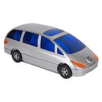 """CD-холдер """"Автомобиль"""" для 80 дисков; серебристый; 34,5х14,4х12,5 см; пластик, фото 1"""