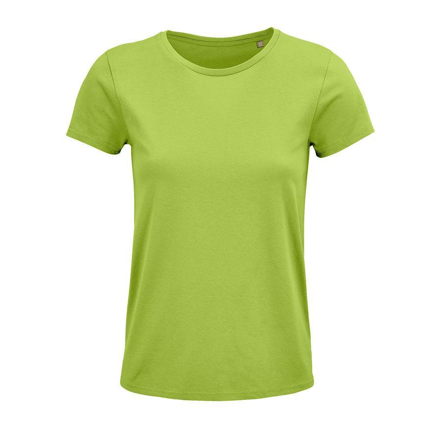 """Футболка женская """"CRUSADER WOMEN"""", зеленое яблоко, XL, 100% органический хлопок, 150 г/м2"""