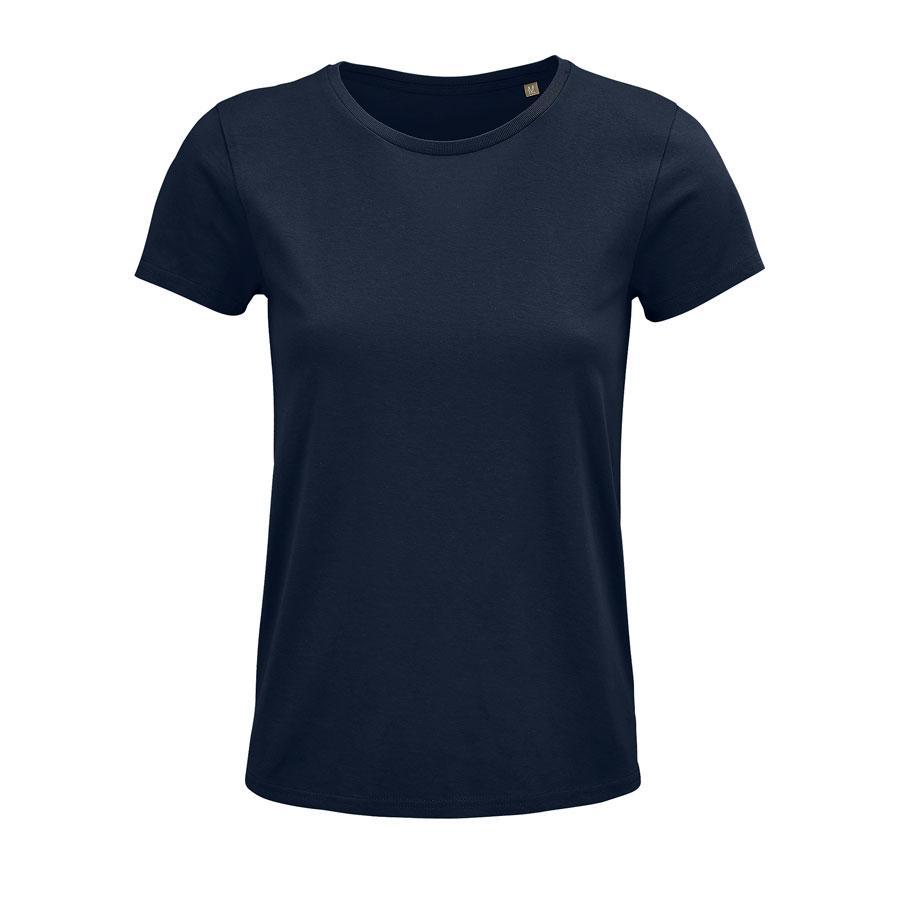 """Футболка женская """"CRUSADER WOMEN"""", темно-синий, M, 100% органический хлопок, 150 г/м2"""
