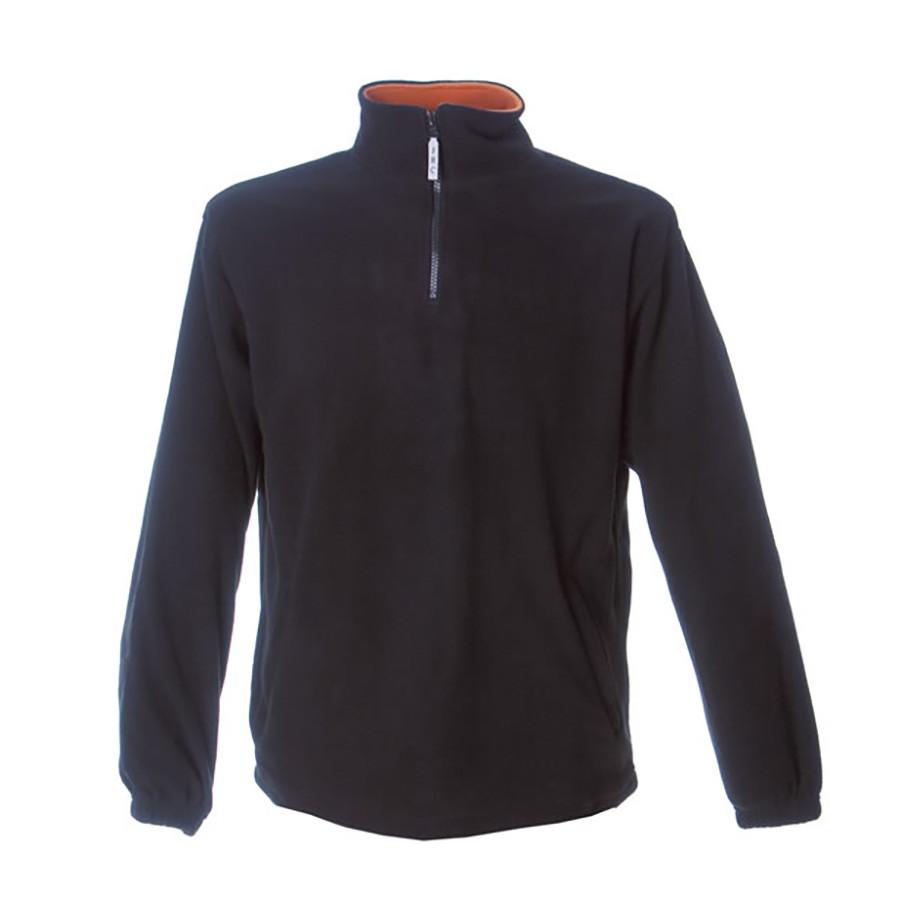 """Толстовка мужская """"ESTONIA"""",чёрный/оранжевый, 2XL, 100% полиэстер, 280 г/м2"""