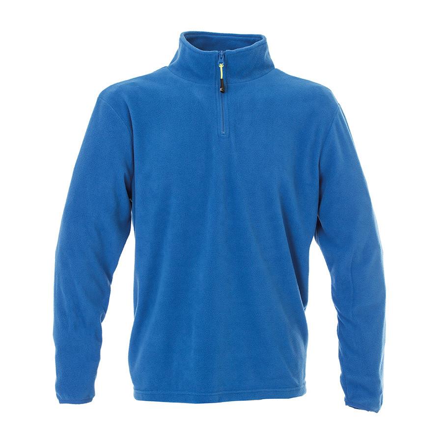 """Толстовка мужская """"MALMO"""", ярко-синий, S, 100% полиэстер, 185 г/м2"""