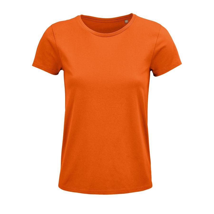 """Футболка женская """"CRUSADER WOMEN"""", оранжевый, L, 100% органический хлопок, 150 г/м2"""