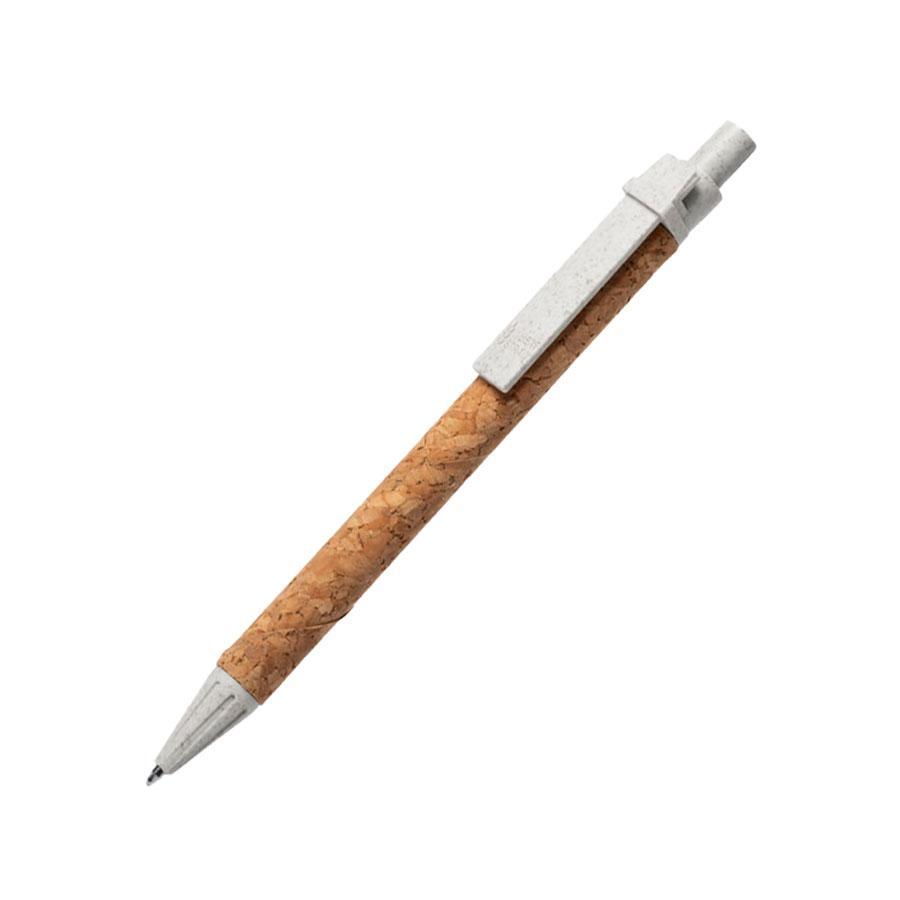 PEVEX, ручка шариковая, пробка, пластик с пшеничной соломой