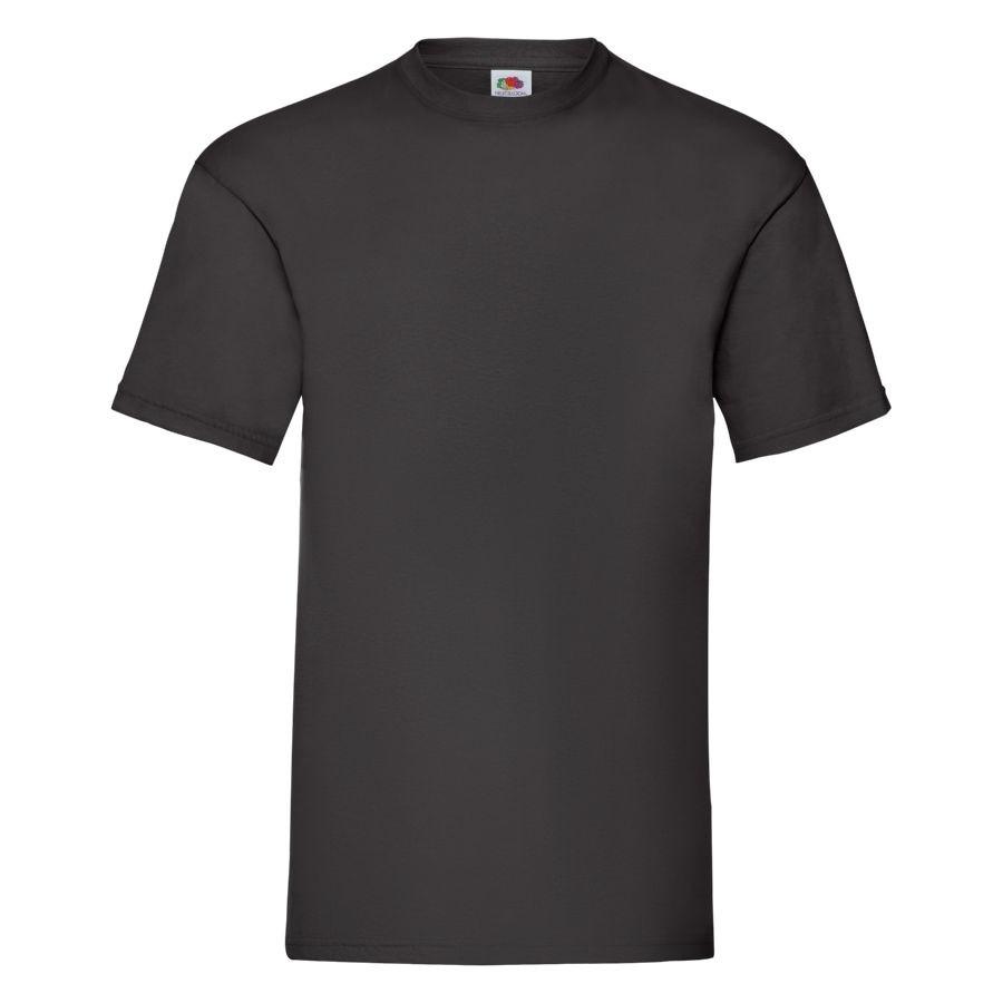 """Футболка мужская """"Valueweight T"""", черный 4XL, 100% х/б, 165 г/м2"""