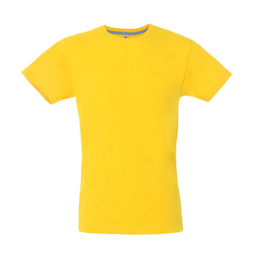 "Футболка мужская ""California Man"", желтый, M, 100% хлопок, 150 г/м2"