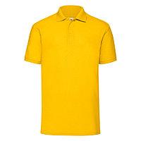 """Поло """"65/35 Polo"""", солнечно-желтый_S, 65% п/э, 35% х/б, 180 г/м2, фото 1"""