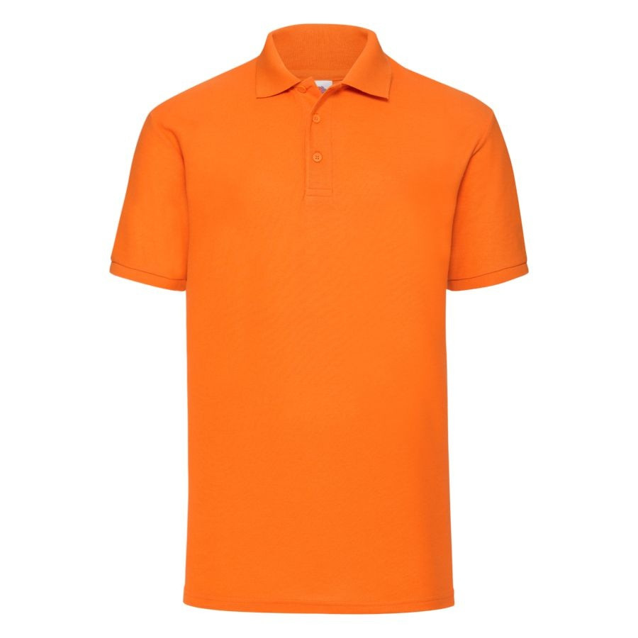 "Поло ""65/35 Polo"", оранжевый_M, 65% п/э, 35% х/б, 180 г/м2"